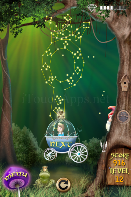 Pictorial Solution: 12 Level Fairy Forest