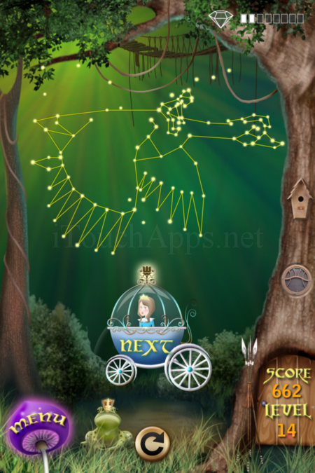 Pictorial Solution: 14 Level Fairy Forest