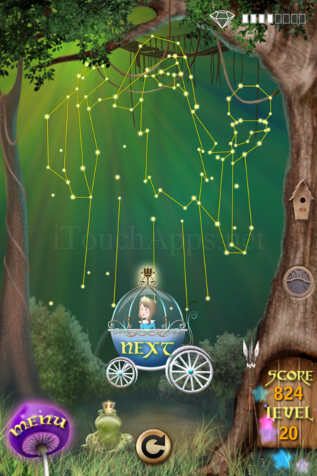Pictorial Solution: 20 Level Fairy Forest