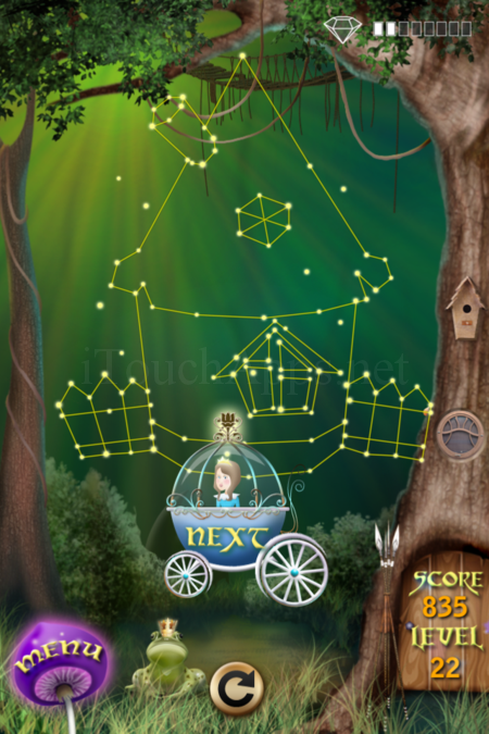 Pictorial Solution: 22 Level Fairy Forest