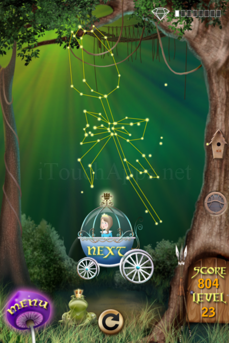 Pictorial Solution: 23 Level Fairy Forest