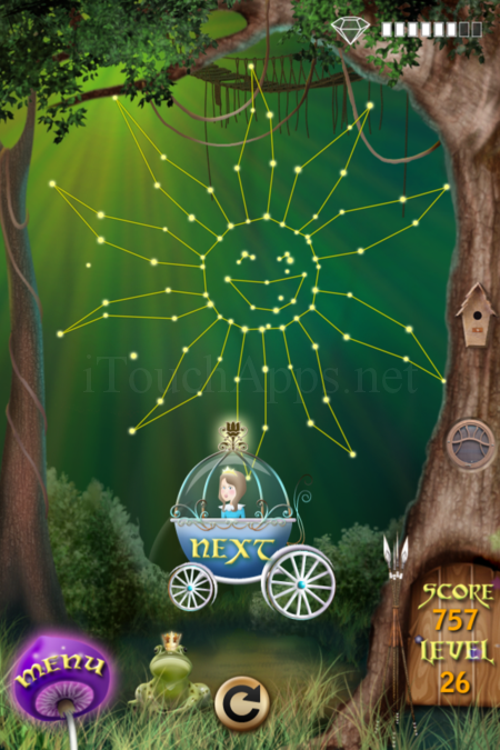 Pictorial Solution: 26 Level Fairy Forest
