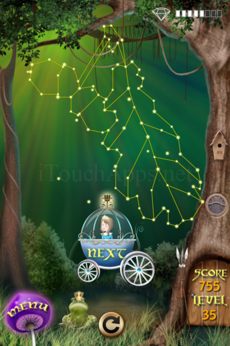 Pictorial Solution: 35 Level Fairy Forest