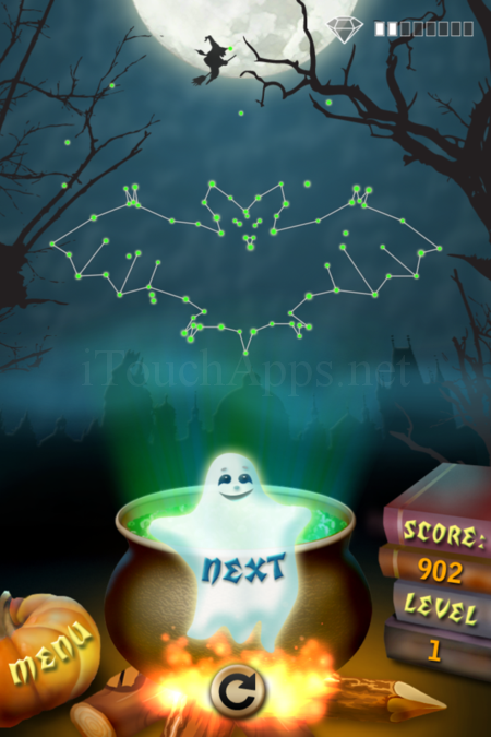 Pictorial Solution: 1 Level Helloween