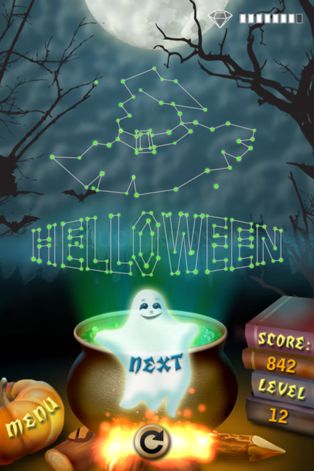 Pictorial Solution: 12 Level Helloween
