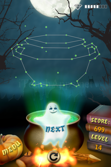 Pictorial Solution: 14 Level Helloween