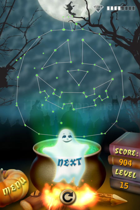 Pictorial Solution: 15 Level Helloween