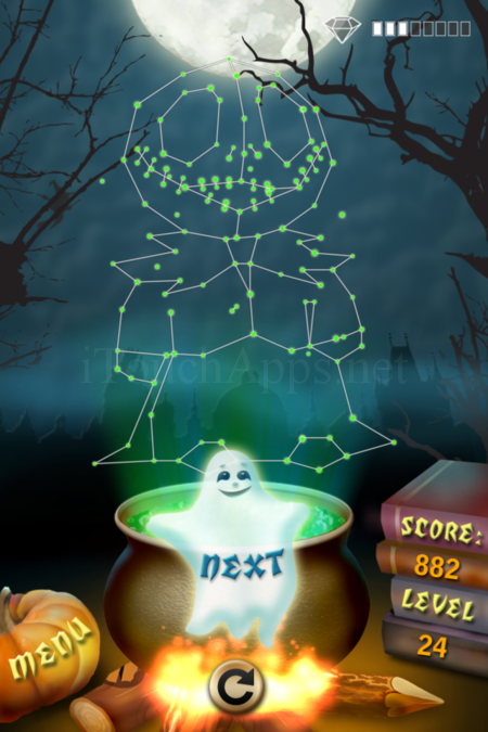 Pictorial Solution: 24 Level Helloween