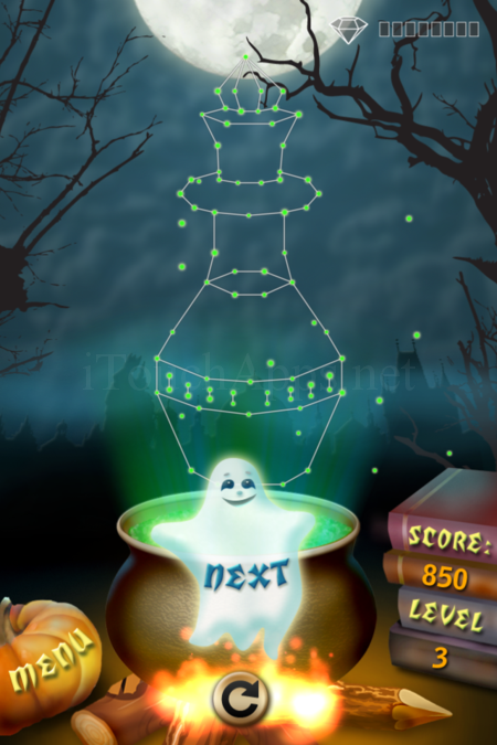 Pictorial Solution: 3 Level Helloween