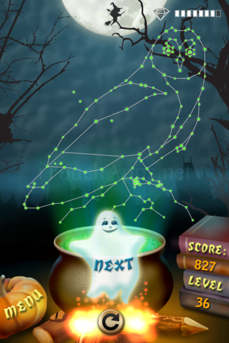 Pictorial Solution: 36 Level Helloween