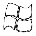 Badly Drawn Logos Microsoft Windows