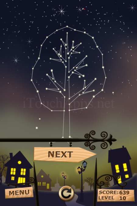 Pictorial Solution: 10 Level Night Town