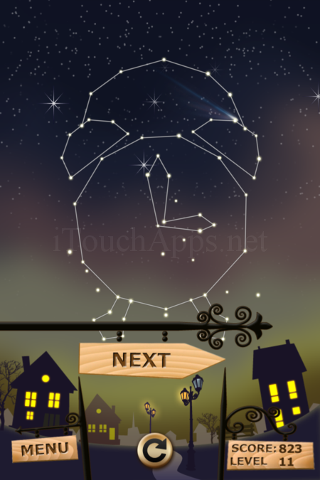 Pictorial Solution: 11 Level Night Town