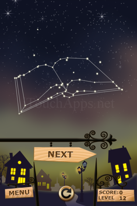 Pictorial Solution: 12 Level Night Town