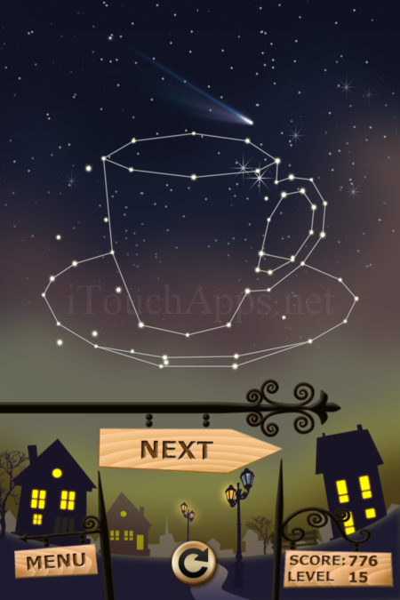 Pictorial Solution: 15 Level Night Town