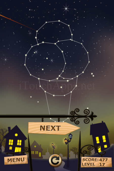 Pictorial Solution: 17 Level Night Town