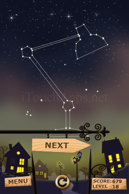 Pictorial Solution: 18 Level Night Town