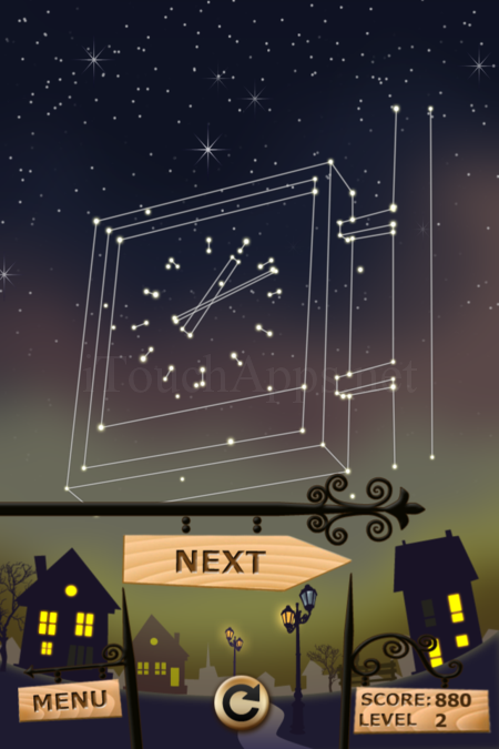 Pictorial Solution: 2 Level Night Town