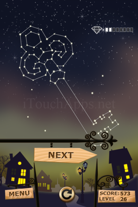 Pictorial Solution: 26 Level Night Town