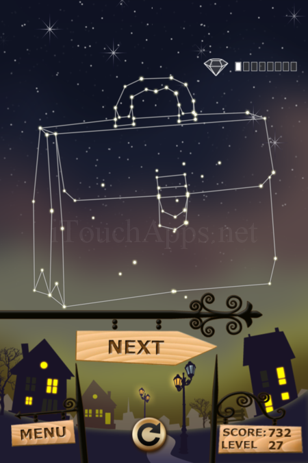 Pictorial Solution: 27 Level Night Town