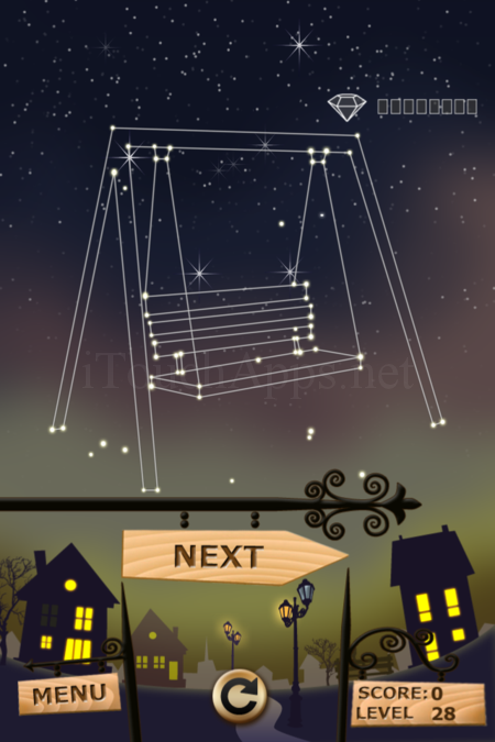 Pictorial Solution: 28 Level Night Town