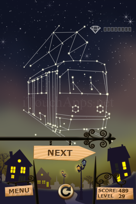 Pictorial Solution: 29 Level Night Town