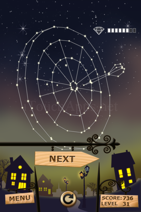 Pictorial Solution: 31 Level Night Town