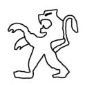 Badly Drawn Logos Peugeot