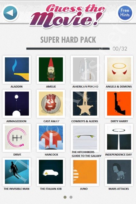 guess the movie super hard pack part 1 answers / solutions / cheat
