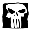 Badly Drawn Logos The Punisher