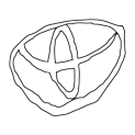 Badly Drawn Logos Toyota Motor Corp.