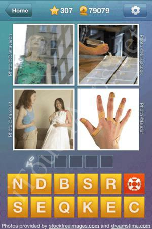 What's the Word Level 307 Solution
