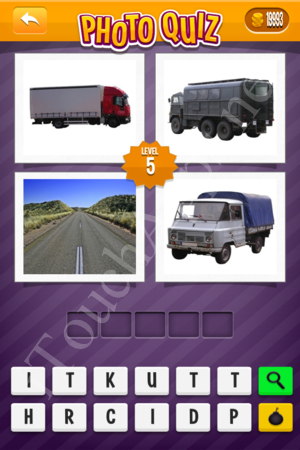 Photo Quiz Easy Pack Part 2 Level 5 Solution