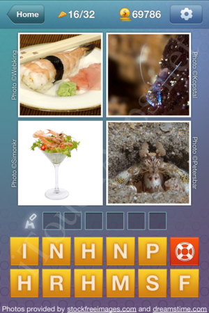 What's the Word Food and Cooking Level 16 Solution