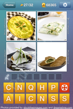 What's the Word Food and Cooking Level 27 Solution