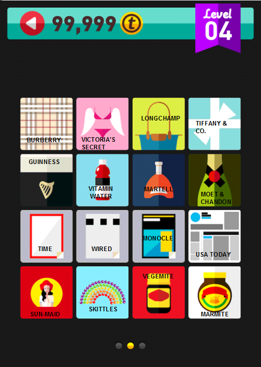 Icon Pop Brand Level 4 Part 2 Answers / Solutions