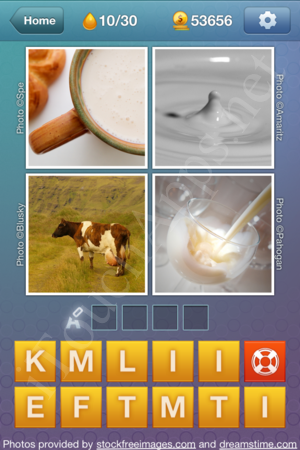 What's the Word Liquids Level 10 Solution