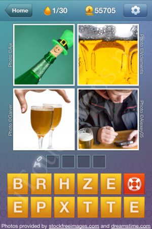 What's the Word Liquids Level 1 Solution