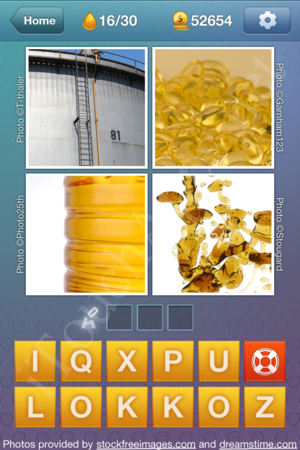 What's the Word Liquids Level 16 Solution