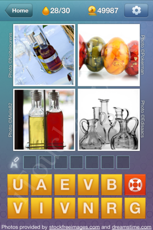 What's the Word Liquids Level 28 Solution
