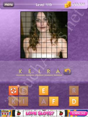 Who's the Celeb Level 119 Answer