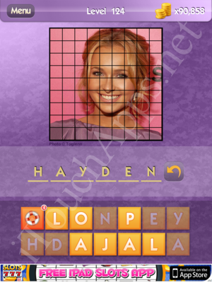 Who's the Celeb Level 124 Answer