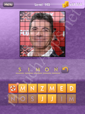 Who's the Celeb Level 142 Answer