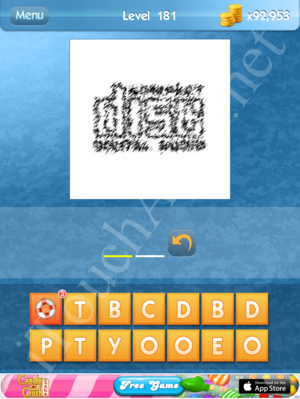 What's the Icon Level 181 Answer