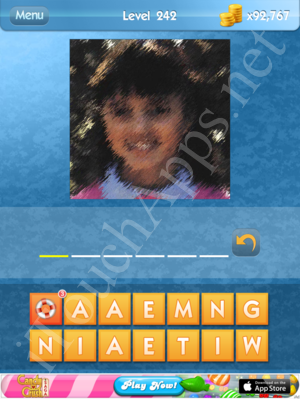 What's the Icon Level 242 Answer