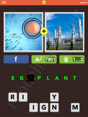 Pic Combo Level 261 Answer