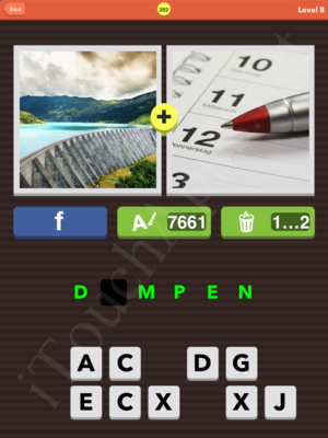 Pic Combo Level 292 Answer