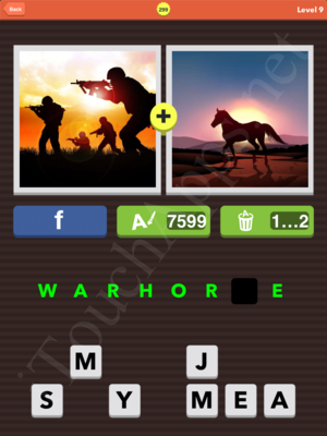 Pic Combo Level 299 Answer