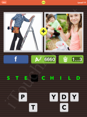 Pic Combo Level 410 Answer