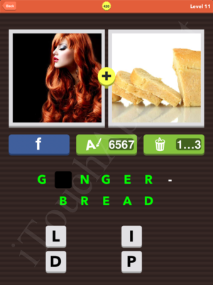 Pic Combo Level 420 Answer